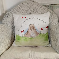'Remember How Much You Are Loved' Cushion