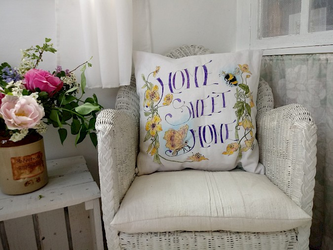 'Home Sweet Home' Cushion Photo 2