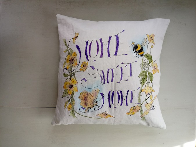 'Home Sweet Home' Cushion Photo 0